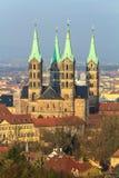 Kupol av Bamberg Arkivbilder