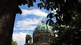 Kupol av Berlin Church Arkivfoto