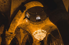 Kupol av den medeltida kyrkan Royaltyfri Bild