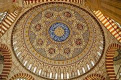 Kupol av den största moskén Royaltyfri Fotografi
