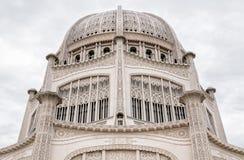Kupol av det Baha'i huset av dyrkan royaltyfri bild