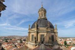 Kupol av det historiska kyrkliga bekant som Parroquia de la Purisima Concepcion Arkivbilder