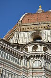 Kupol av domkyrkan av Santa Maria del Fiore, Florence, Italien Arkivbilder
