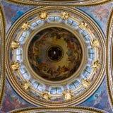 Kupol av domkyrkan för ` s för St Isaac Arkivbilder