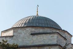Kupol av en moské Arkivbild