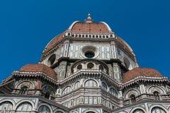 Kupol av Florence, Tuscany Fotografering för Bildbyråer