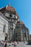 Kupol av Florence, Tuscany Arkivfoton