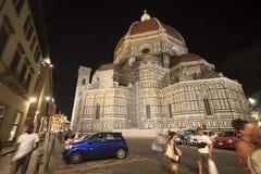Kupol av Florence, Tuscany Italien Arkivfoto
