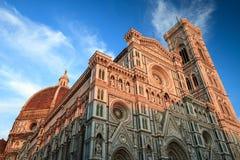 Kupol av Florence, Tuscany Italien Royaltyfria Bilder