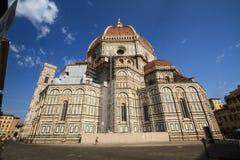 Kupol av Florence, Tuscany Italien Royaltyfri Foto