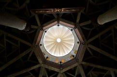 Kupol av kyrkan av annunciationen Arkivfoto