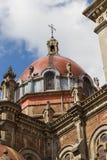 Kupol av kyrkan av San Juan el Real i Oviedo Arkivfoton