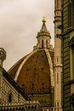 Kupol av kyrkliga florence Royaltyfri Bild