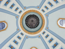 Kupol av Manitoba lagstiftnings- byggnad i Winnipeg arkivfoton
