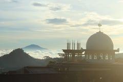 Kupol av moskén Arkivbilder