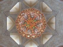 Kupol av moskén arkivfoto