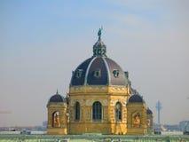 Kupol av museet av naturhistoria, Wien Royaltyfria Bilder