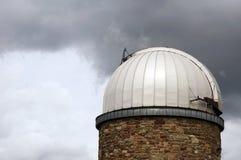 Kupol av observatoriet Stuttgart Royaltyfria Foton