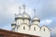 Kupol av ortodoxSten Sophia Cathedral Arkivbilder
