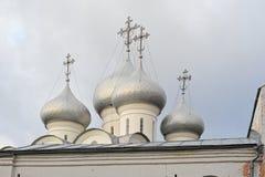 Kupol av ortodoxSten Sophia Cathedral Fotografering för Bildbyråer