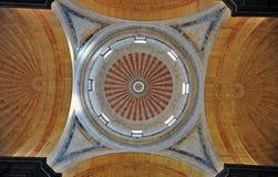 Kupol av panteon i Lissabon Arkivbilder