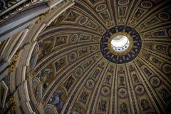 Kupol av panteon i Rome Royaltyfria Foton