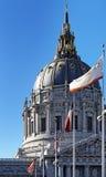 Kupol av San Francisco City Hall Arkivbild