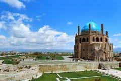 Kupol av Soltaniyeh royaltyfri foto