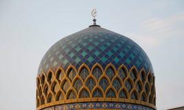 Kupol av Sultan Abdul Samad Mosque (KLIA-moskén) Royaltyfri Fotografi