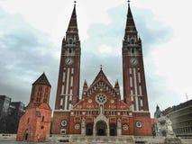 Kupol av Szeged Royaltyfri Foto