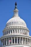 Kupol av USA-Kapitolium Arkivbild