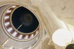 Kupol av West Virginia statlig Capitolbyggnad Royaltyfria Bilder