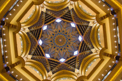 Kupol för emiratslotthotell arkivbild