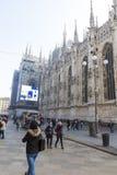 Kupol för Milan ` s Arkivfoton