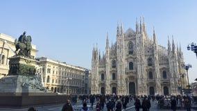 Kupol för Milan ` s Royaltyfri Foto
