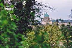 Kupol för St Nicholas `-kyrka i Potsdam Royaltyfria Foton