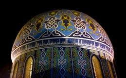 Kupol Fardous Mosque Royaltyfria Bilder