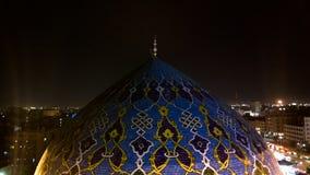 Kupol Fardous Mosque Arkivfoton