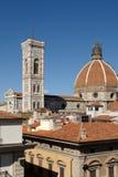 kupol florence Arkivbild