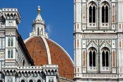 kupol florence Arkivfoto