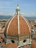 kupol florence Arkivbilder