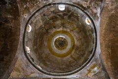 Kupol i den forntida Hagia Irene kyrkan i Topkapi Arkivbild