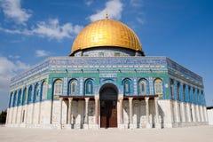 kupol israel jerusalem Royaltyfri Foto