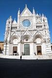kupol italy siena fotografering för bildbyråer