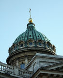 Kupol Kasanskogo sobora. The dome of the Kazan Cathedral in St. Petersburg Royalty Free Stock Photography