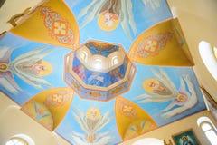 Kupol med änglar Royaltyfria Foton