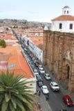 Kupol på San Felipe Neri Monastery, Sucre, Bolivia Arkivbilder