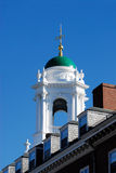 kupoleliot grönt harvar hus Arkivbilder