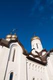 Kupolen av den kristna kyrkan Royaltyfria Foton