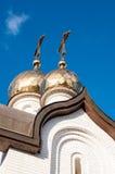 Kupolen av den kristna kyrkan Royaltyfria Bilder